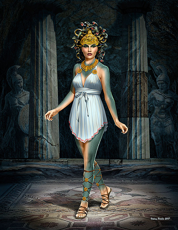 Ancient Greek Myths Series. Medusa /24025/