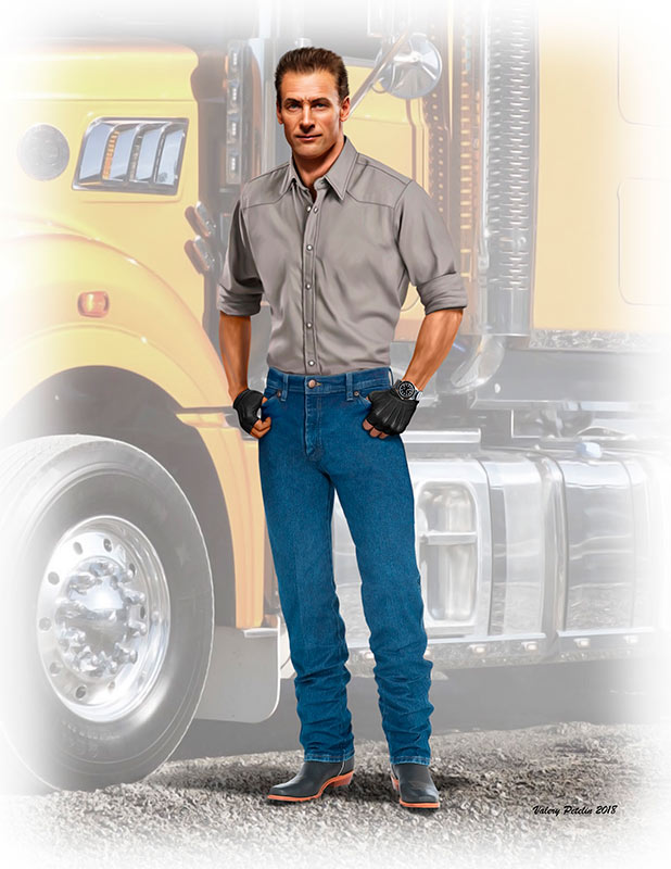 Truckers series. Stan (Long Haul) Thompson /24042/