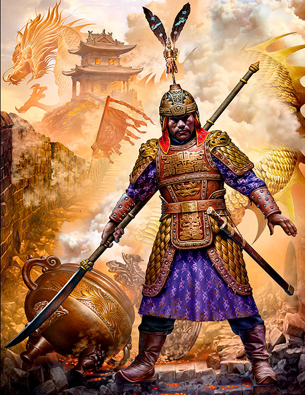 Zhu Yuanzhang, the founding emperor of China's Ming dynasty. Battle for Nanjing, 1356 /24059/