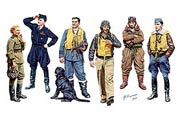 Famous pilots of WW II. Kit 1 /3206/
