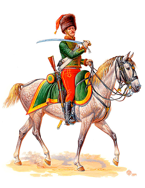 French Hussar, Napoleonic Wars era /3208/