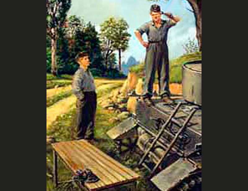 German tank repairmen (1940-1944) /3509/