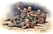 German Infantry, Eastern Front, WWII Era /35102/