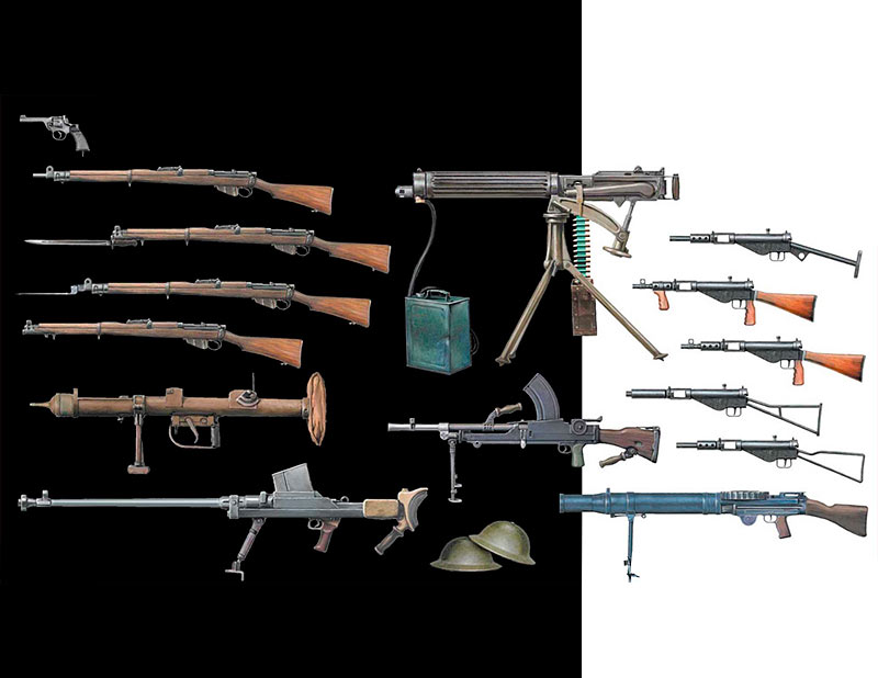 British Infantry Weapons, WW II era /35109/