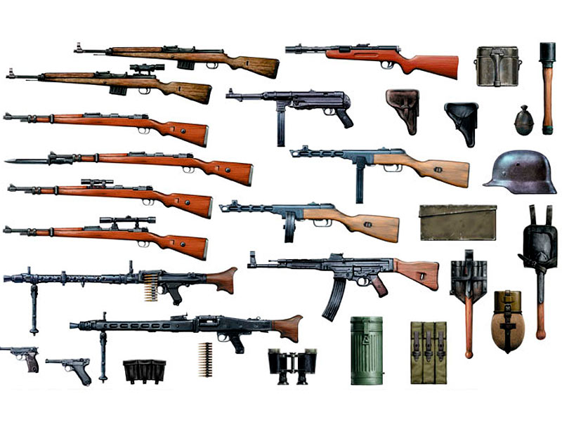 German Infantry Weapons, WW II era /35115/