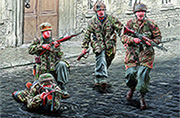 German Paratroopers. WW II era /35145/