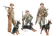 Dogs in service in the US Marine Corps, WW II era /35155/