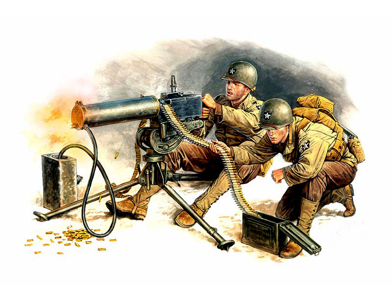 U.S. Machine-gunners /3519/