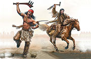 Indian Wars Series, kit No. 2. Tomahawk Charge /35192/