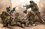 Under Fire. Modern US Infantry /35193/