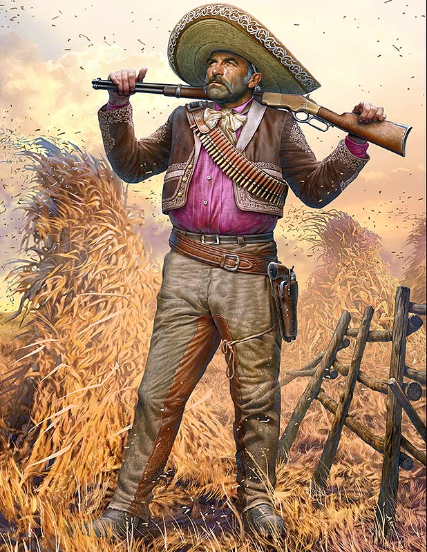 Gunslinger series. Kit No. 3. Pedro Melgoza - Bounty Hunter