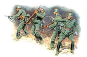 Frontier fight of summer 1941, German Infantry (4 fig.) /3522/