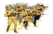 Frontier fight of summer 1941, Russian Infantry (4 fig.)