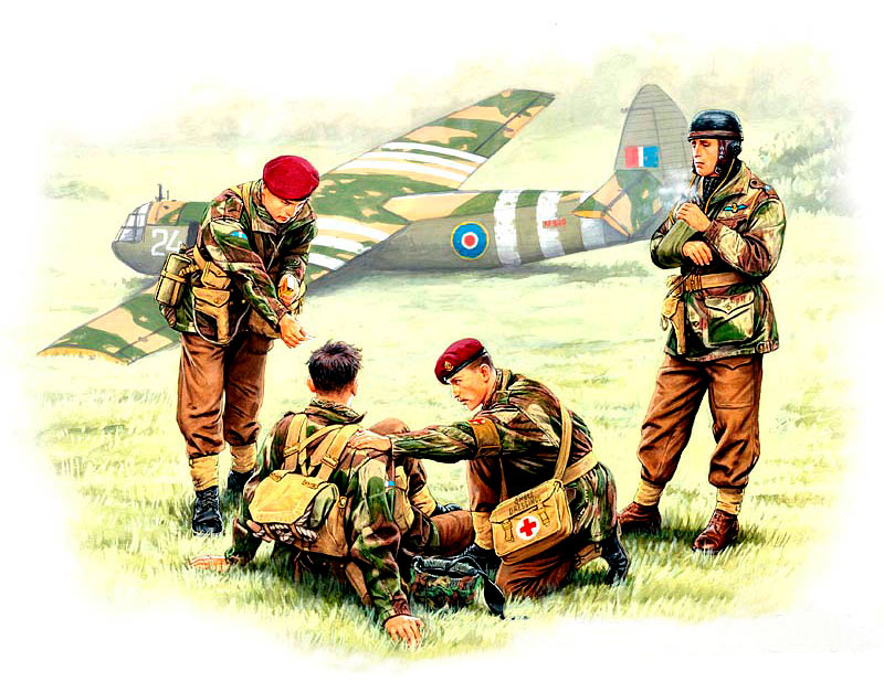 British paratroopers, 1944. Kit 2 /3534/