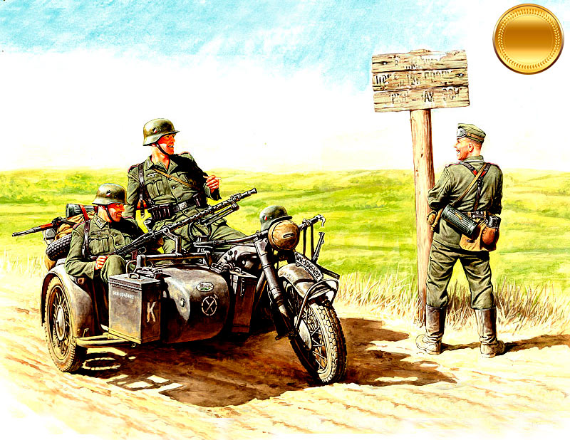 German motorcyclists, 1940-1943 /3539/