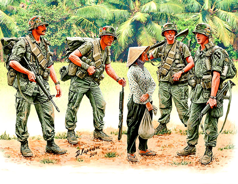 Patroling. Vietnam War series /3599/