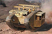 MK I Male British Tank, Special Modification for the Gaza Strip  /72003/